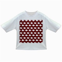 Cute Whale Illustration Pattern Infant/toddler T Shirts