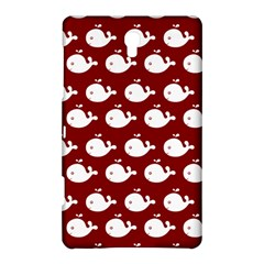 Cute Whale Illustration Pattern Samsung Galaxy Tab S (8.4 ) Hardshell Case