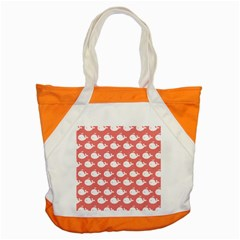 Cute Whale Illustration Pattern Accent Tote Bag
