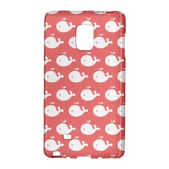 Cute Whale Illustration Pattern Galaxy Note Edge