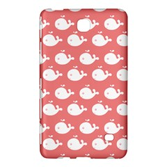 Cute Whale Illustration Pattern Samsung Galaxy Tab 4 (7 ) Hardshell Case