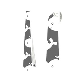 Cute Whale Illustration Pattern Neckties (Two Side)