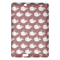 Cute Whale Illustration Pattern Kindle Fire Hd (2013) Hardshell Case