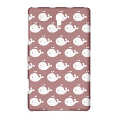 Cute Whale Illustration Pattern Samsung Galaxy Tab S (8 4 ) Hardshell Case