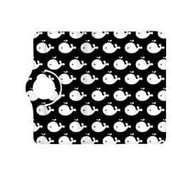 Cute Whale Illustration Pattern Kindle Fire Hdx 8 9  Flip 360 Case