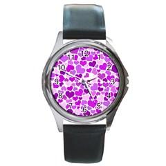 Heart 2014 0929 Round Metal Watches