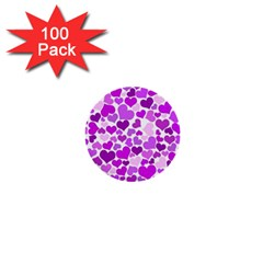 Heart 2014 0929 1  Mini Buttons (100 Pack)