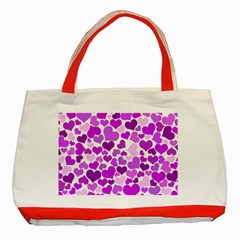 Heart 2014 0929 Classic Tote Bag (red)