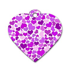 Heart 2014 0929 Dog Tag Heart (one Side)