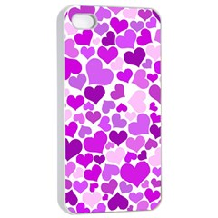 Heart 2014 0929 Apple iPhone 4/4s Seamless Case (White)