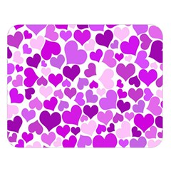 Heart 2014 0929 Double Sided Flano Blanket (Large)