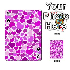 Heart 2014 0930 Playing Cards 54 Designs