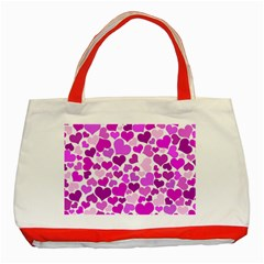 Heart 2014 0930 Classic Tote Bag (red)