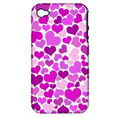 Heart 2014 0930 Apple Iphone 4/4s Hardshell Case (pc+silicone)