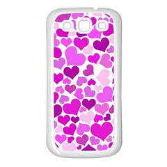Heart 2014 0930 Samsung Galaxy S3 Back Case (white)