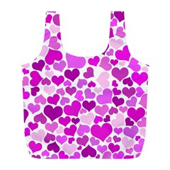 Heart 2014 0930 Full Print Recycle Bags (l)