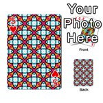 Cute Pattern Gifts Playing Cards 54 Designs  Front - Heart5