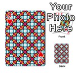 Cute Pattern Gifts Playing Cards 54 Designs  Front - HeartJ
