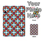 Cute Pattern Gifts Playing Cards 54 Designs  Front - Spade7