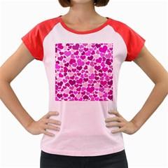 Heart 2014 0931 Women s Cap Sleeve T Shirt