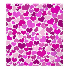 Heart 2014 0931 Shower Curtain 66  x 72  (Large)