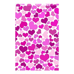 Heart 2014 0931 Shower Curtain 48  x 72  (Small)