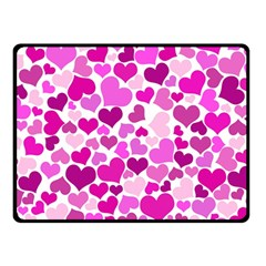 Heart 2014 0931 Double Sided Fleece Blanket (small)