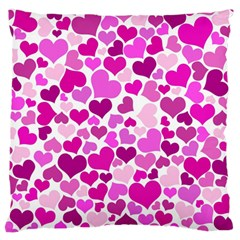 Heart 2014 0931 Standard Flano Cushion Cases (two Sides)