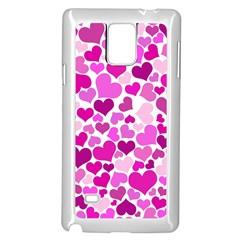 Heart 2014 0931 Samsung Galaxy Note 4 Case (white)