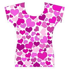 Heart 2014 0931 Women s Cap Sleeve Top