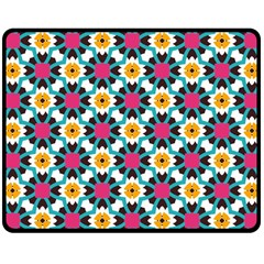 Cute Pattern Gifts Double Sided Fleece Blanket (Medium)