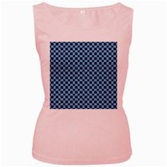 Cute Pattern Gifts Women s Pink Tank Tops