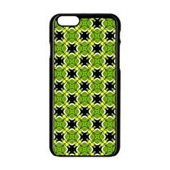 Cute Pattern Gifts Apple Iphone 6 Black Enamel Case