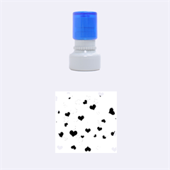 Heart 2014 0932 Rubber Round Stamps (Small)