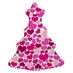 Heart 2014 0932 Christmas Tree Ornament (2 Sides)
