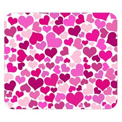 Heart 2014 0932 Double Sided Flano Blanket (small)