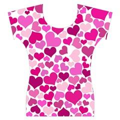 Heart 2014 0932 Women s Cap Sleeve Top