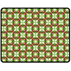 Cute Pattern Gifts Double Sided Fleece Blanket (Medium)