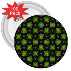 Cute Pattern Gifts 3  Buttons (100 Pack)