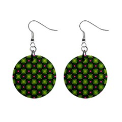 Cute Pattern Gifts Mini Button Earrings