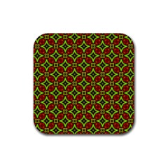 Cute Pattern Gifts Rubber Coaster (square)