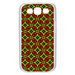 Cute Pattern Gifts Samsung Galaxy S III Case (White)