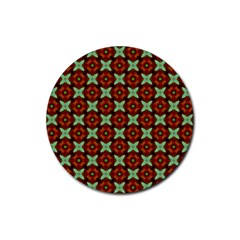 Cute Pattern Gifts Rubber Coaster (round)