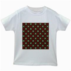 Cute Pattern Gifts Kids White T Shirts