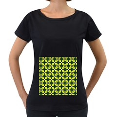 Cute Pattern Gifts Women s Loose-Fit T-Shirt (Black)