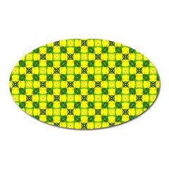 Cute Pattern Gifts Oval Magnet