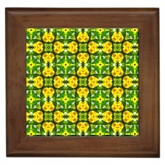 Cute Pattern Gifts Framed Tiles