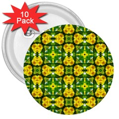 Cute Pattern Gifts 3  Buttons (10 Pack)