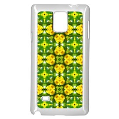 Cute Pattern Gifts Samsung Galaxy Note 4 Case (White)