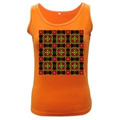Cute Pattern Gifts Women s Dark Tank Tops